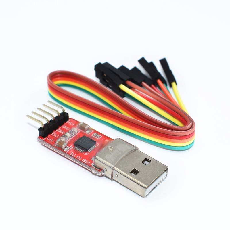 5pcs//lot PL2303HX USB Turn TTL RS232 Module Upgrade USB to Serial Download Cable Nine Brush line