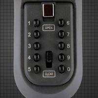 Электронный в безопасной коробке Железный настенный шнурок для ключей кодовый замок утолщение металлический Футляр для ключей ключница се
