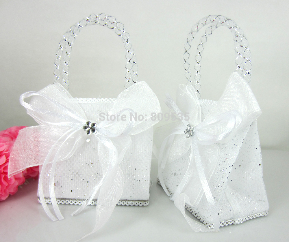 12Pcs 45x75mm LANSSEN Fillable candy Pouches gift bags wedding ...