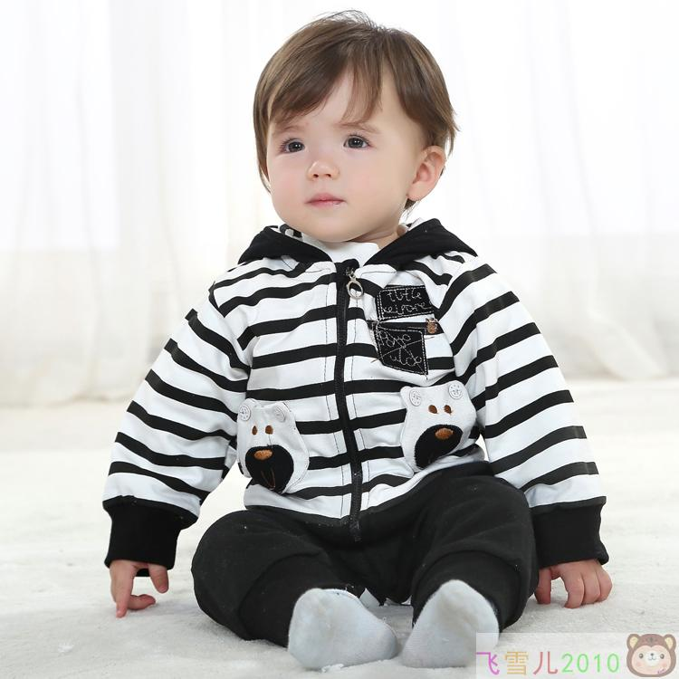 2ee364ff049f1 2014 spring and autumn clothing boys 0 - 1 - 2 years old 6 - 7 baby three  pieces set infant boy casual clothes