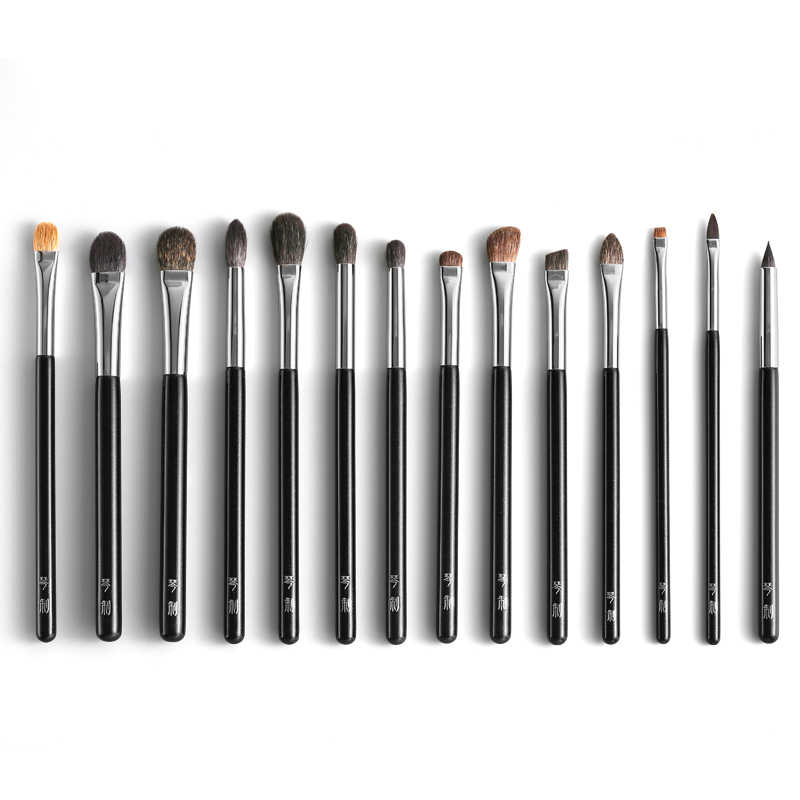 Professional Makeup Brushes Soft Squirrel Goat Hair Eye Shadow Blending Eyeliner Lip Brush pincel maquiagem Make Up Brush