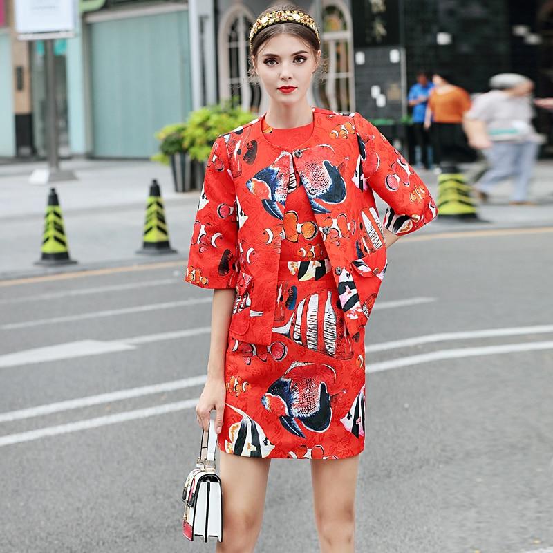 Milan Catwalk New High Quality Runway Designer 2018 Spring Fashion WomenS Party Vintage Printed Sleeveless Vest Short Dresses