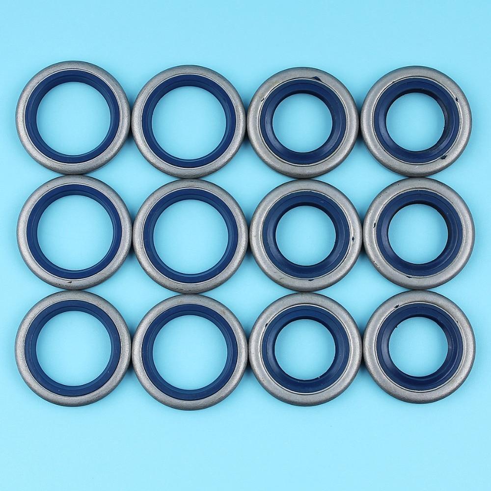 6 Pair Crank Oil Seals Oilseal Kit For HUSQVARNA 365 371 372 362 362XP EPA K Chainsaw #503260301/505275719