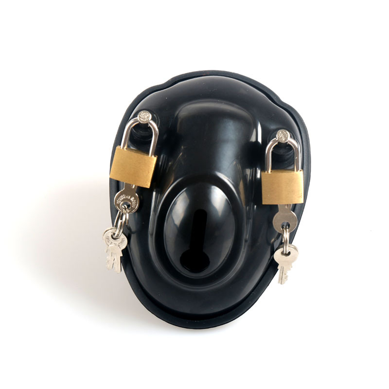 Male Chastity Device Cock Cage,Mens Virginity Lock Penis Ring,Penis Lock cockrings Adult Game,2 Cock Ring,Chastity Belt