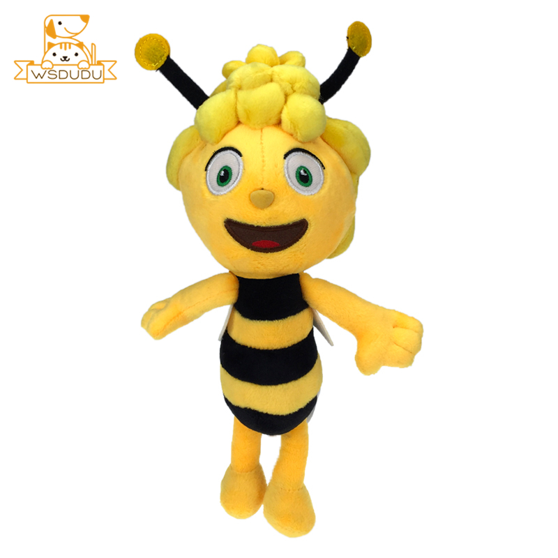 Kawaii Bee Girls Plush Stuffed Toys Cartoon Animals Honeybee Cute Dolls Soft Figure For Children Kids Beautiful Gifts Adorable kawaii manga adorable