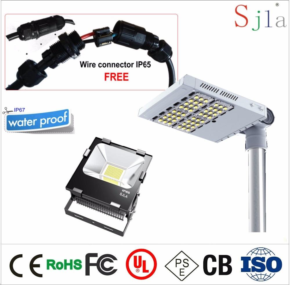 Outdoor Lighting Waterproof Wire Connectors CE ROHS IP65 Floodlight ...