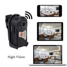Беспроводной Mini Wi-Fi DVR Q7 IP видеокамеры Регистраторы Камера инфракрасный Ночное видение Камера обнаружения движения Встроенный микрофон
