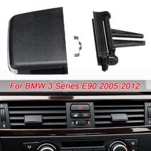Автомобиль разрез спереди выходе Клип Ремонт/C Кондиционер Vent Выход Tab клип ремонт комплект Пластик черный для BMW 3 серии E90 2005-2012