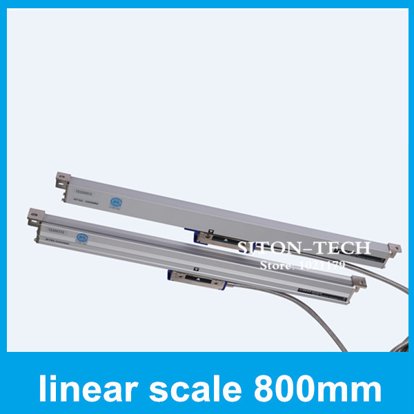 Free shipping low cost encoder Rational WTA5 800mm 0.005mm encoder scale Spark machine Lathe accessories shipping cost 100usd
