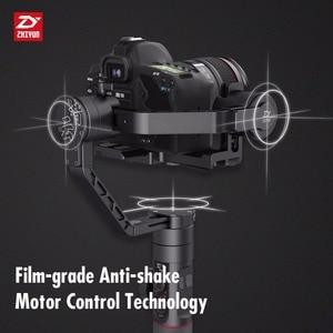 Image 3 - ZHIYUN 公式クレーン 2 3 軸ジンすべてのモデルのためのデジタル一眼レフミラーレスカメラキヤノン 5D2/3 /4 サーボフォローフォーカス