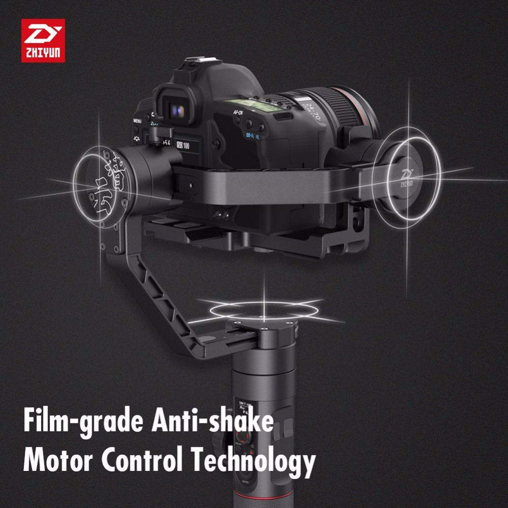 Image 3 - ZHIYUN Official Crane 2 3 Axis Gimbal Stabilizer for All Models of DSLR Mirrorless Camera Canon 5D2/3/4 with Servo Follow FocusHandheld Gimbals   -