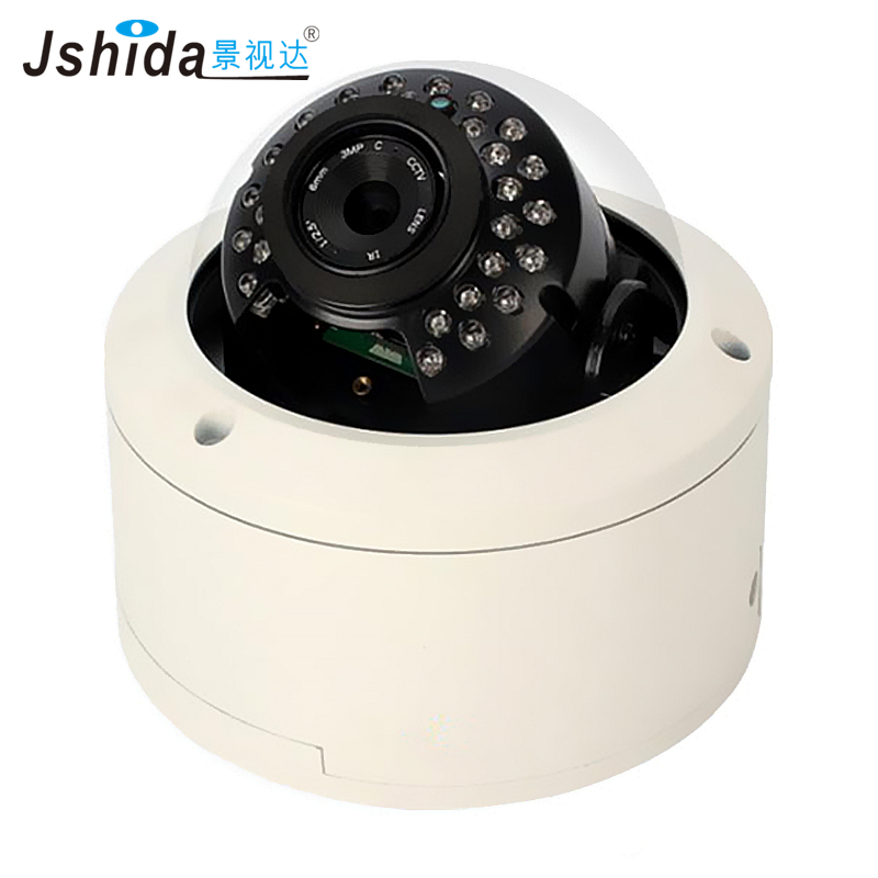 Jshida HD Dome CCTV Camera Outdoor Security IP Camera 1.3MP Waterproof Hi3518A 25M IR Night Vision Onvif Indoor Camera