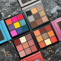 Яркие тени для креативного макияжа