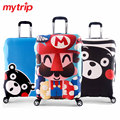 Elastic Travel Trolley Cover for 18-32 Inch Luggages Thickened Kumamon Suitcase Covers Fit Your Suitcase