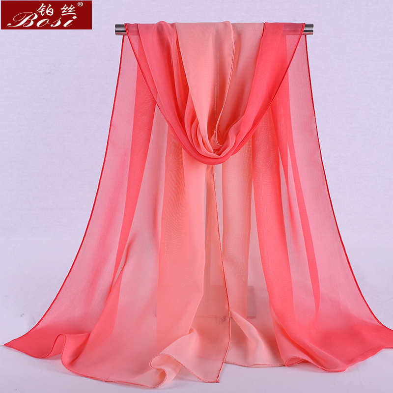 HTB1KcNKXOYrK1Rjy0Fdq6ACvVXaD - Chiffon scarf gradient women hijab winter brand autumn red long scarfs poncho luxury ladies scarves shawl sjaal long bohemian gg