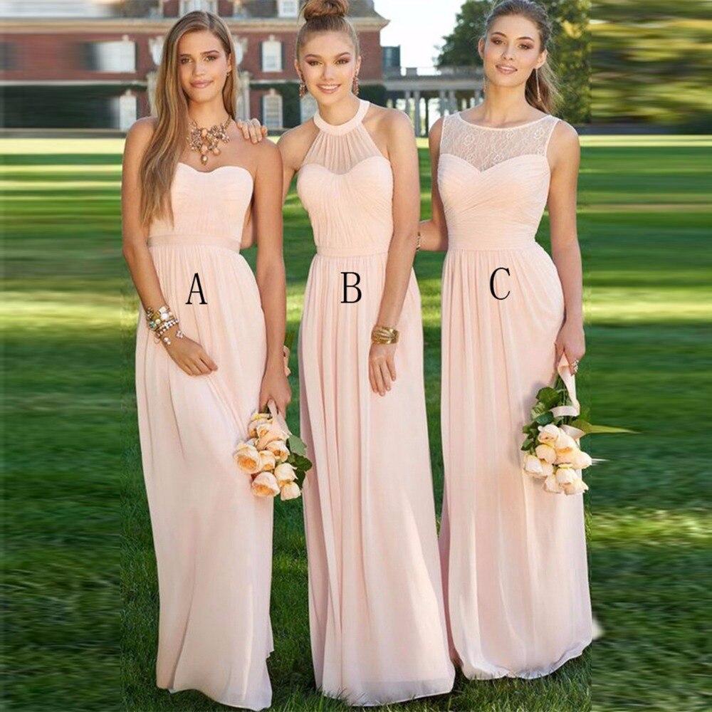 Popularne Multi Style Bridesmaid Dresses- kupuj tanie Multi Style ...
