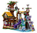 BELA Friends Series Adventure Camp Tree House Building Blocks Classic For Girl Kids Toys  Marvel Compatible Legoe