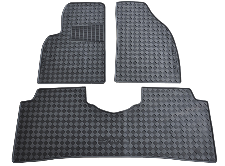Free Ship Waterproof Non Slip Rubber Foot Latex Car Mat