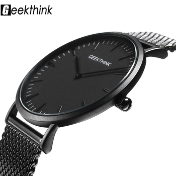 Ultra Thin Quartz Men Watch