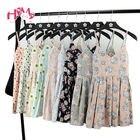 Cheap Summer Japanese Beach Party Dress Women Floral Cute Pleated Strap Mini Dresses Lady 2017 Cotton Femme Suspender Short Vestidos