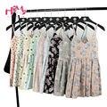 Summer Beach Sleeveless Dress Women Floral Print Cute Pleated Gallus Dresses For Ladies V Neck Cotton Femme Suspender Vestidos