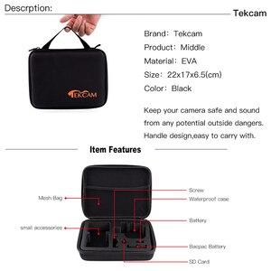Image 2 - Tekcam for xiaomi yi Accessories for Xiaomi yi 4k/yi lite/yi discovery/mijia 4k Gopro hero 7 hero 5/4 session Eken h9r H9 H6S