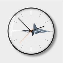New Wall Clock 12Inch/14Inch Northern European Style Modern Design Minimalist Ultra-quiet Weeping Simple Quartz