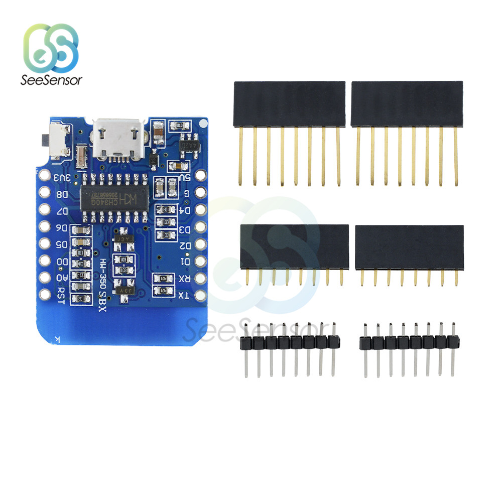 WeMos D1 Mini WiFi Wireless Development Module ESP8266 ESP-12E ESP-12F CH340 CH340G for Arduino NodeMCU IOT Board