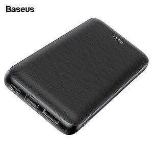 Baseus 20000 мАч mi ni power Bank для iPhone 11 Pro Max Xiao mi 20000 мАч USB C PD power bank портативное Внешнее зарядное устройство
