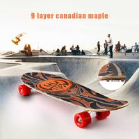 Fashion Scooter Skateboard Print Wood board Stunt Scooter for Adult Skate Board Outdoor Extreme Sports Long Board Hoverboard