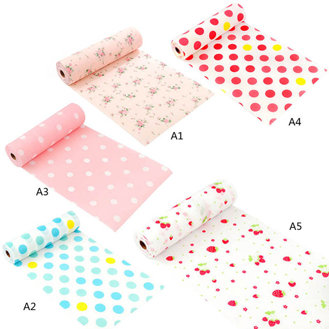 1pcs Waterproof New Kitchen Table Mat Drawer Liner Wardrobe Pad Cupboard  Placemat Moistureproof 30*300cm