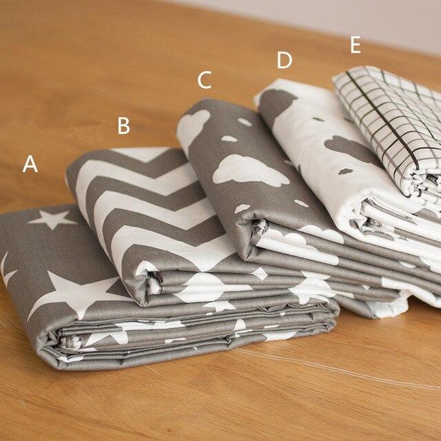 160 cm * 50 cm grijs plaid wolken katoen stof de doek voor baby ...