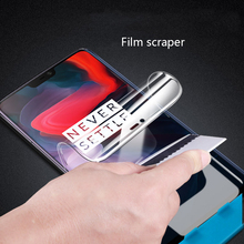 Screen Protector For Oneplus 6 6T Hydrogel 3D Film Soft Full Cover 5 5t 3 Not Tempered Glass