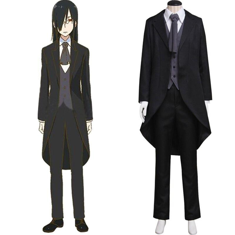 Fafnir Costume Cosplay Anime kobayashi-san Chi pas de femme de chambre Dragon adulte Costume veste pantalon gilet chemise Cosplay