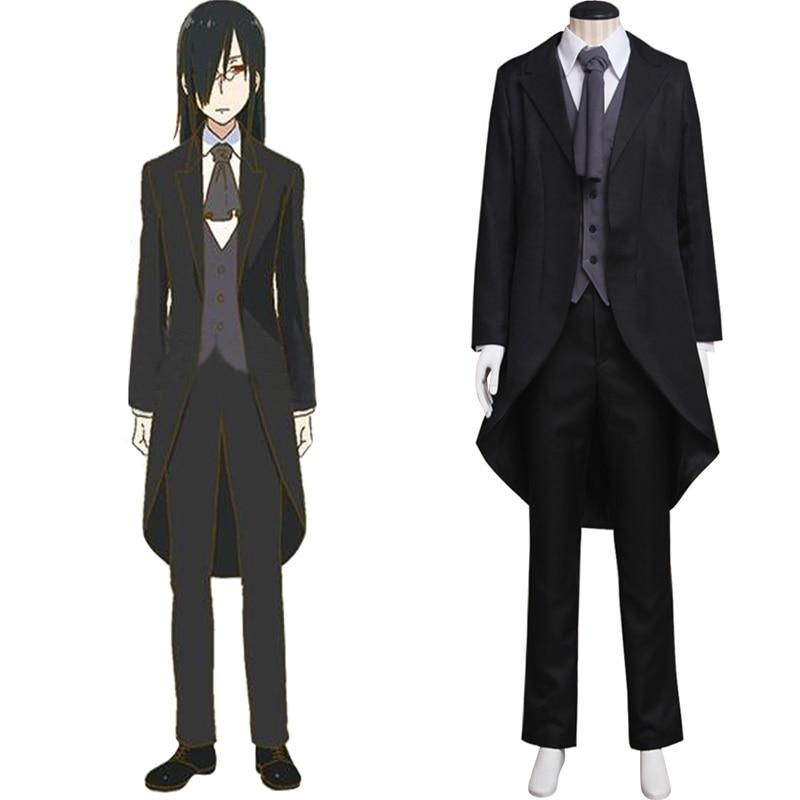 Fafnir Costume Cosplay Anime Kobayashi san Chi no Maid Dragon Adult s Suit Jacket Pants Vest