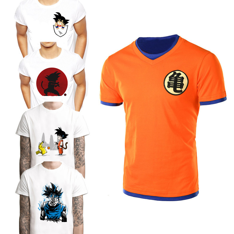 2018   t     shirt   men super dbz vegeta   t  -  shirt   goku saiyan super tshirt dragon ball cosplay costume DragonBall z