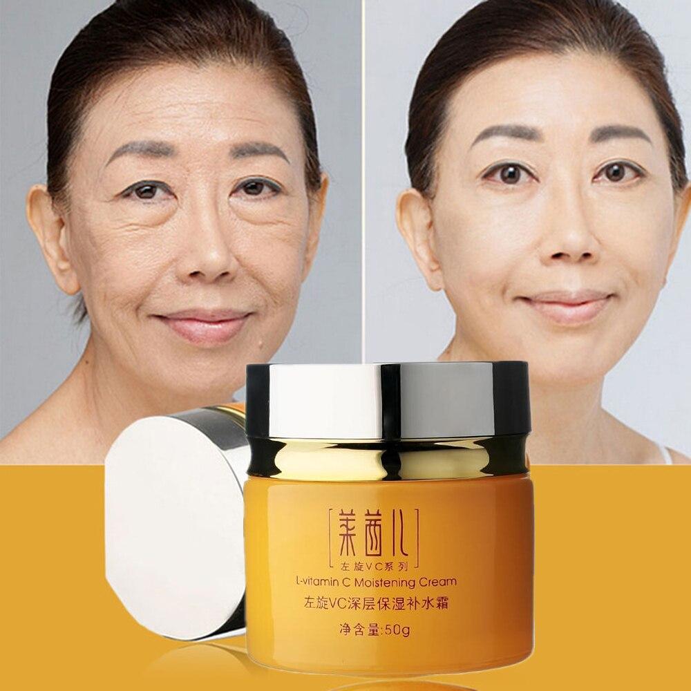 Skin Care Vitamin C Cream For Anti-Aging Anti Wrinkle Moisturizing Whitening Tightening Beauty Face Cream Korean Cosmetics Бюстгальтер