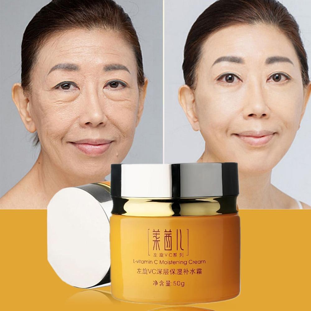 Skin Care Vitamin C Cream For Anti-Aging Anti Wrinkle Moisturizing Whitening Tightening Beauty Face Cream Korean Cosmetics