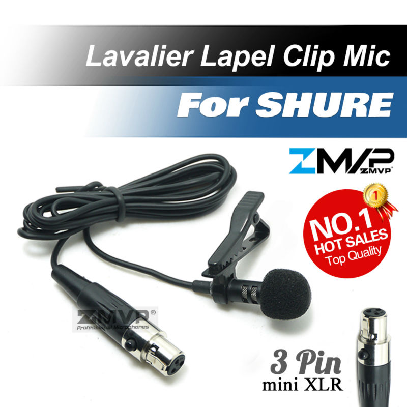 xlr microphone wiring online shopping the world largest xlr professional lavalier lapel tie clip cardioid condenser microphone for shure wireless body pack transmitter mini 3 pin xlr ta3f