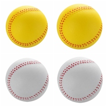 1 шт Универсальный ручной работы Бейсбол s ПВХ& PU верхняя твердая и мягкая бейсбольная мяча мяч для Софтбола тренировка Упражнение Бейсбол Мячи