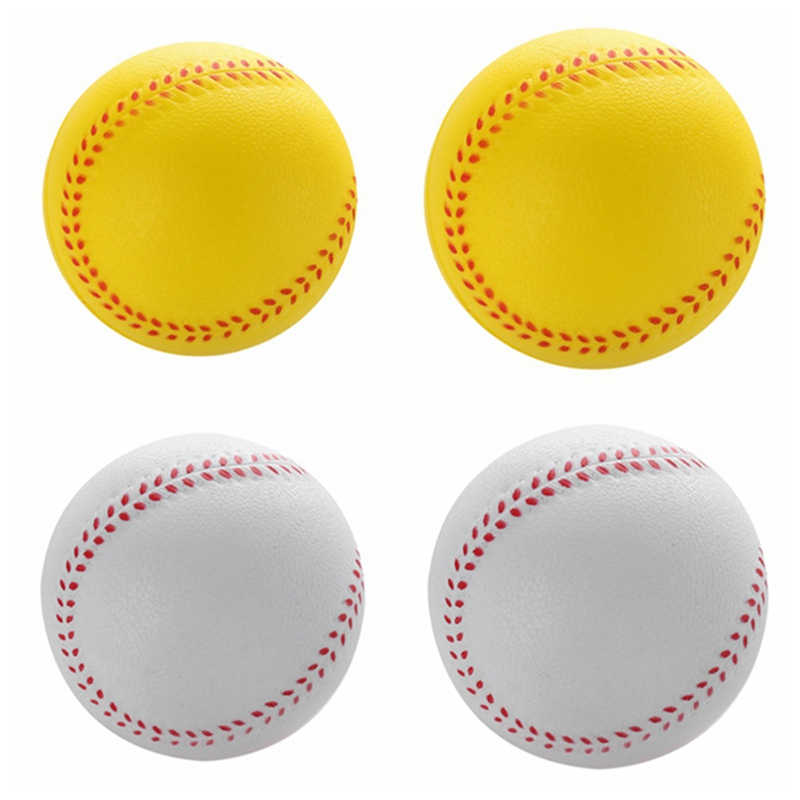 1 Pcs Universal Handmade Baseballs PVC&PU Upper Hard&Soft Baseball Balls Softball Ball Training Exercise Baseball Balls