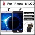 10 pcs lcd 4.7 polegada para iphone 6 pantalla ecran completo Display com Tela de Toque de Vidro Digitador Assembléia Repair Navio Livre DHL