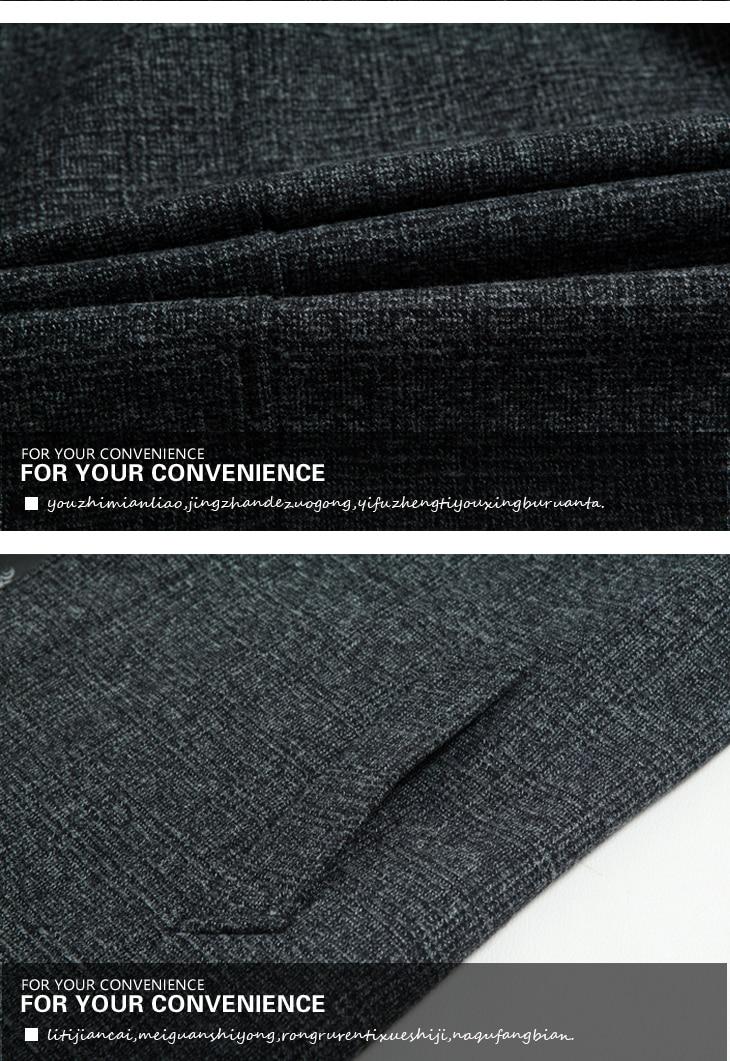 WAEOLSA Mature Men Elegant Jackets Woollen Blends Basic Coat Dark Gray Jackets Aged Man Wool Outerwear Winter Autumn Outfits Father (7)