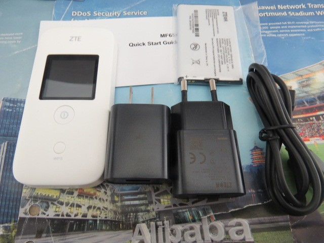 Zte MF65 + Router - 21 Mbps 3 G Router Wirelss