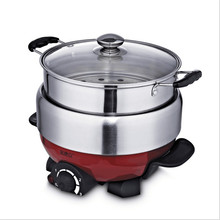 1100W 3L Non stick Multifunctional Electric Household Hot Pot Electric font b Cooker b font Heat