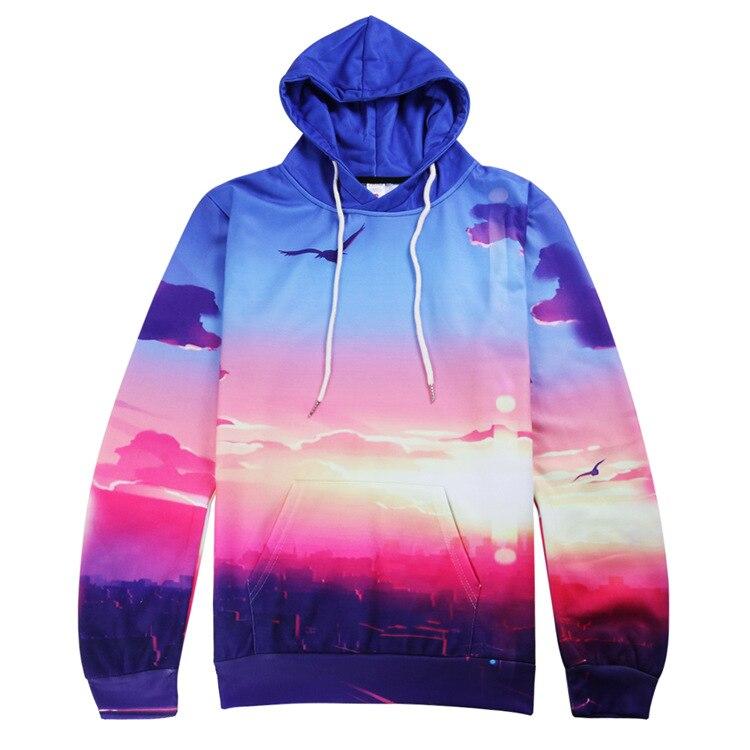 fashion 2017 mens hoodies 3d printed sweatshirt hip hop sudadera hombre brand clothing