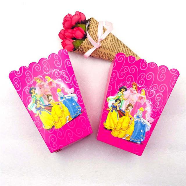 Popcorn box 6pcs
