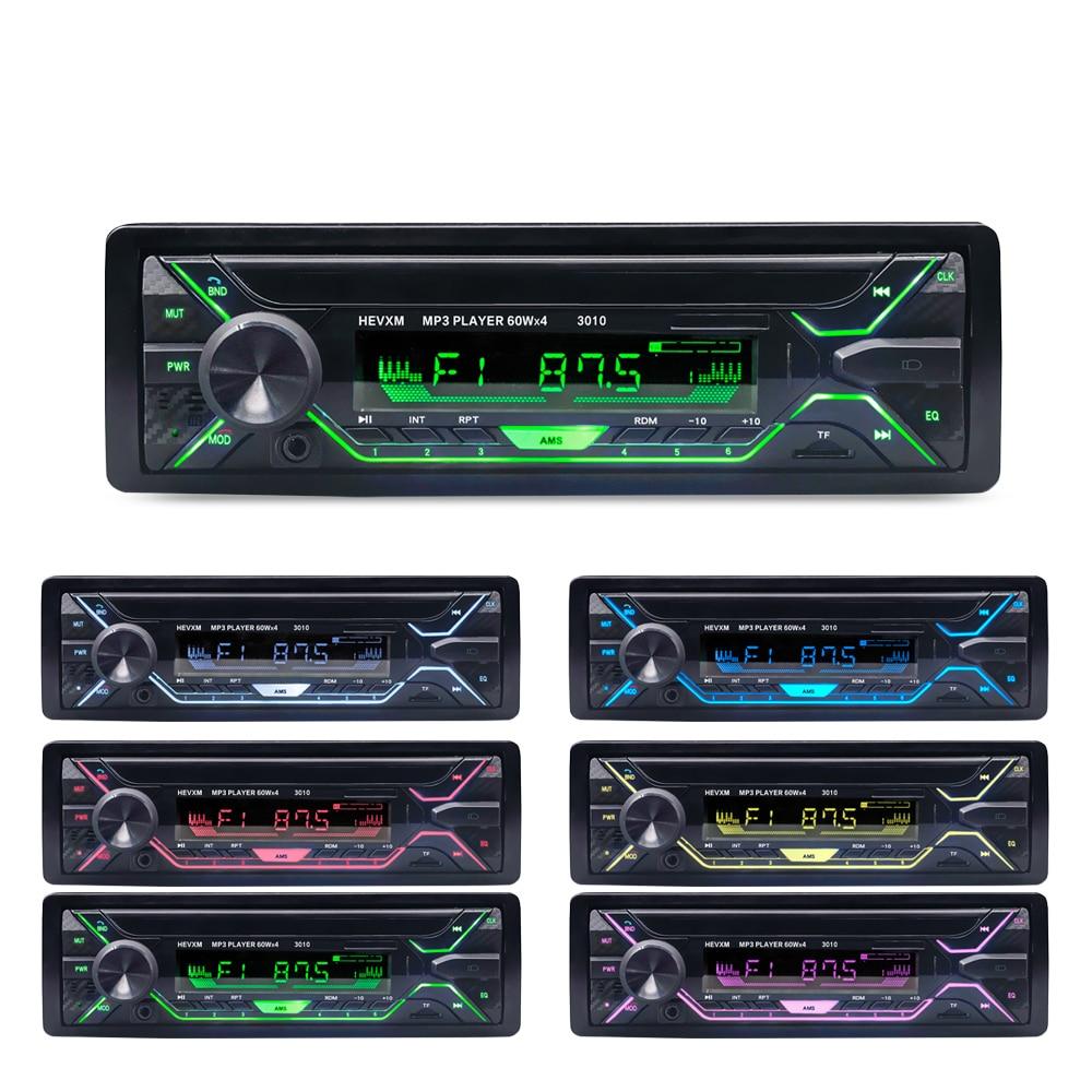 Автомобиль Радио стерео проигрыватель Bluetooth телефона AUX-IN MP3 FM/USB/1 Din/пульт дистанционного управления 12V Аудио авто