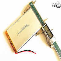 3.7V 12500mAh lithium polymer battery 8080130 MP3 MP4 navigation instruments small toys and other products Universal Battery
