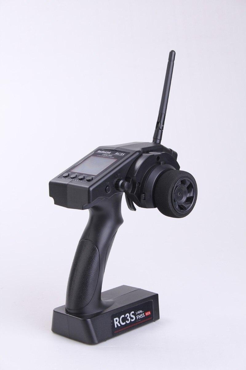 ФОТО RadioLink RC3S 4CH 2.4G Digital Radio Control System Gun Transmitter R4EH Receiver LCD Programable for RC Car Boat F04640